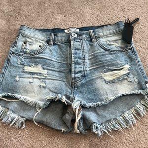 NWT One Teaspoon shorts